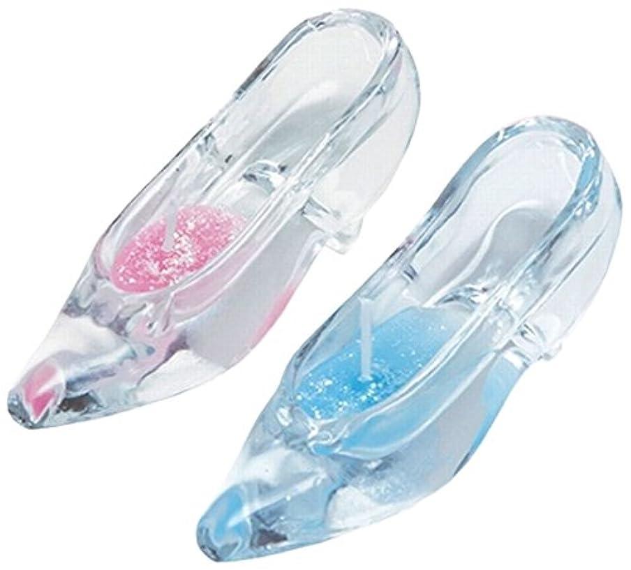 ゴール風ピンガラスの靴セット A7681006