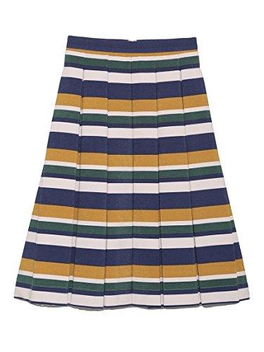 Amazon | Lily Brown(リリーブラウン)ボーダーフレアスカート | スカート 通販