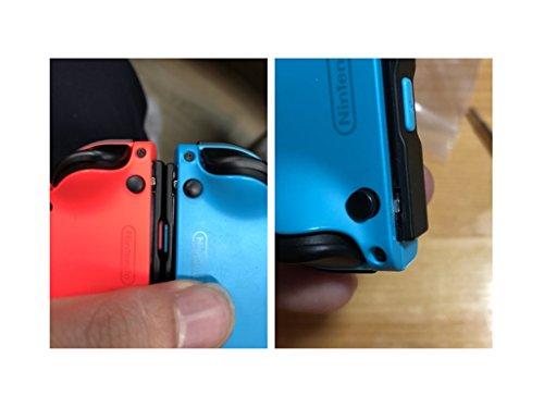 『XBERSTAR Nintendo Switch Joy-Con 交換部品 バックルロック 4個 修理パーツ アルミ製 レール構造で耐久性の問題を解決』の5枚目の画像