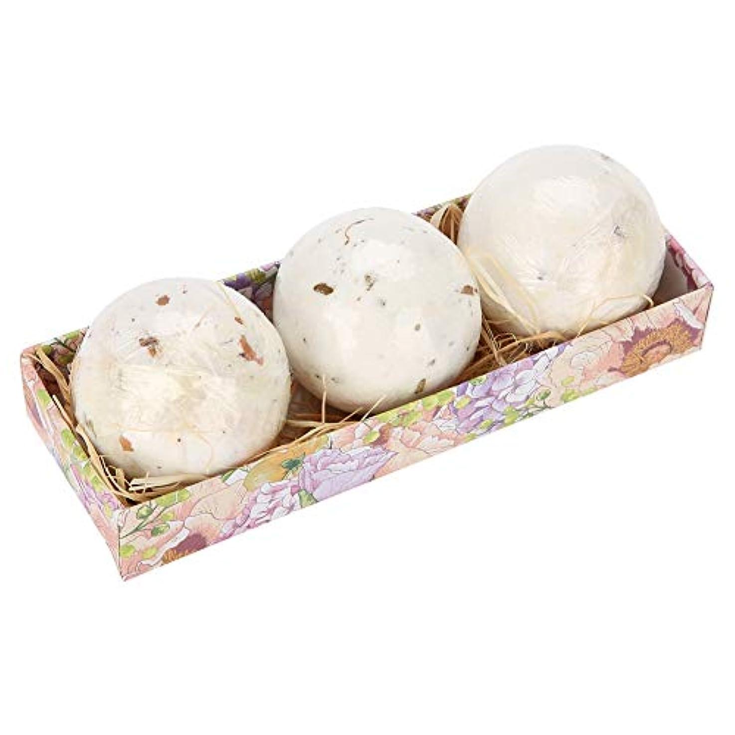 物理的なボスファームバスボム 4枚入り 爆弾バスボール 入浴剤 入浴料 セットお風呂用 海塩 潤い 肌に良い 痒み止め 贈り物 ギフト