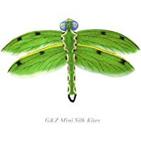 MiniグリーンシルクDragonfly Kite with Gift Box