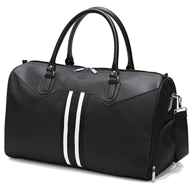 [TcIFE] ボストンバッグ レディース メンズ 大容量 2WAY 修学 旅行トラベルバッグ 収納バッグ
