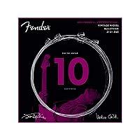 Fender Jimi Hendrix Voodoo Child Bullet End Nickel 10-38 エレキギター弦×3セット