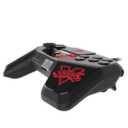 ストリートファイター V ファイトパッド PRO ブラック M.BISONデザイン (PlayStation3 / PlayStation4) タッチパッド・ボタン L3 / R3 ボタン LED ライトバー 機能 搭載