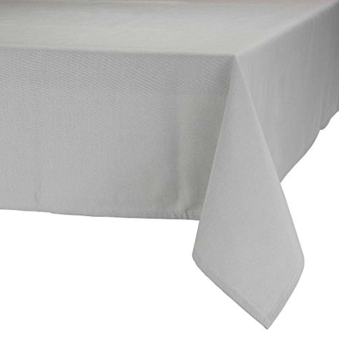 キャッチゴシップ背が高いMAJEST(マジェスト) テーブルクロス 長方形160cmx230cm 布地 グレー 無地 繋なし 吸水タイプ