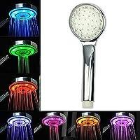 7色 LED シャワー ヘッド LEDライトシャワーヘッド レインボーシャワーヘッド  LED内蔵シャワーヘッド シャワー ヘッド自動ライト水ホームバース