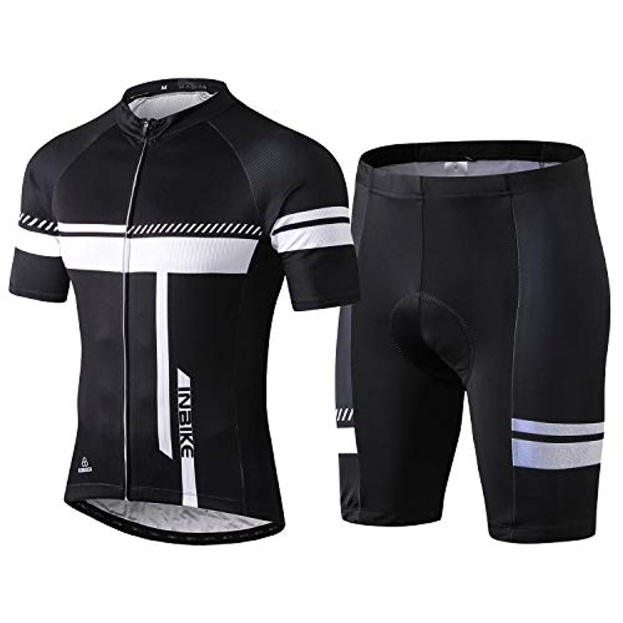 波紋器用レンチINBIKE メンズ サイクルジャージ サイクルウェア 上下セット スポーツウェア サイクリングウェア