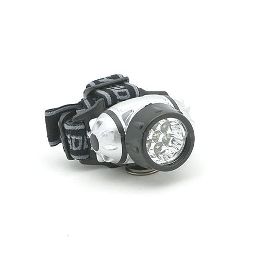不器用幻想ディンカルビル7 LED Super Bright LED 3 AAA Headlight Power Light Beam 8105 by LED Wholesalers