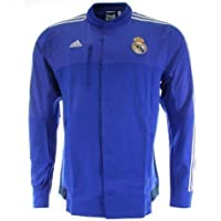 Adidas Real Madrid CF Anthem Jacket (Boblue/ホワイト) L
