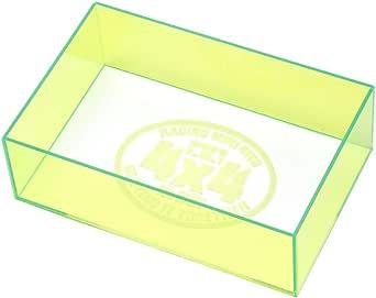 タミヤ ミニ四駆特別企画商品 ミニ四駆 チェックボックス (全長・最大幅) ネオングリーン 95548