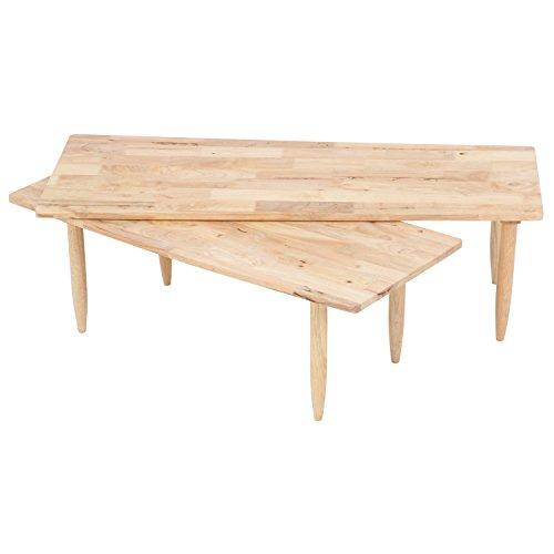 不二貿易 センターテーブル 木製 ツイン Natural S...