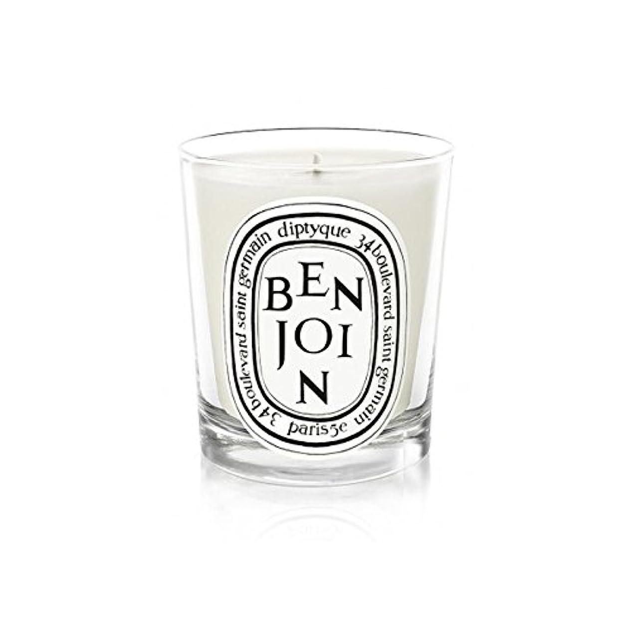 あごひげ予約最初Diptyque Candle Benjoin 190g (Pack of 6) - DiptyqueキャンドルBenjoinの190グラム (x6) [並行輸入品]