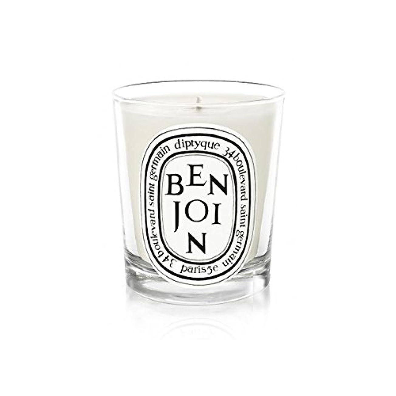 偽善悩むなめるDiptyqueキャンドルBenjoinの190グラム - Diptyque Candle Benjoin 190g (Diptyque) [並行輸入品]