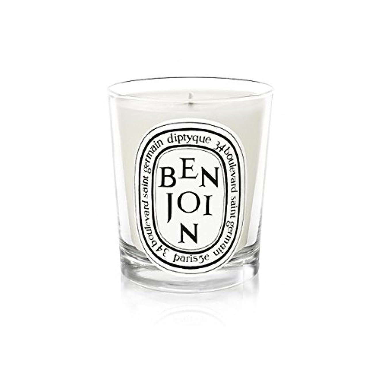 実用的主滑るDiptyque Candle Benjoin 190g (Pack of 2) - DiptyqueキャンドルBenjoinの190グラム (x2) [並行輸入品]