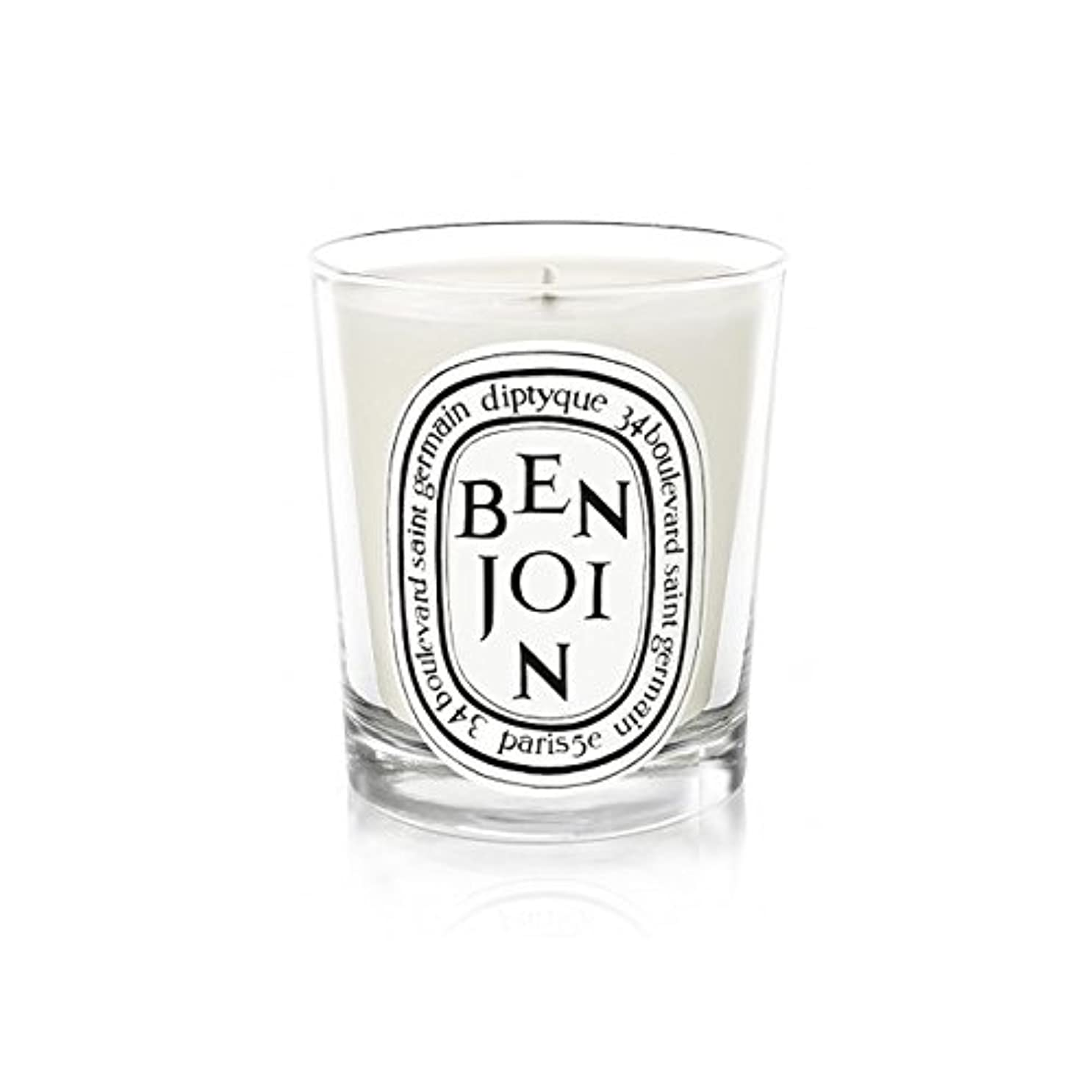 セーブ煙突時間厳守Diptyque Candle Benjoin 190g (Pack of 2) - DiptyqueキャンドルBenjoinの190グラム (x2) [並行輸入品]