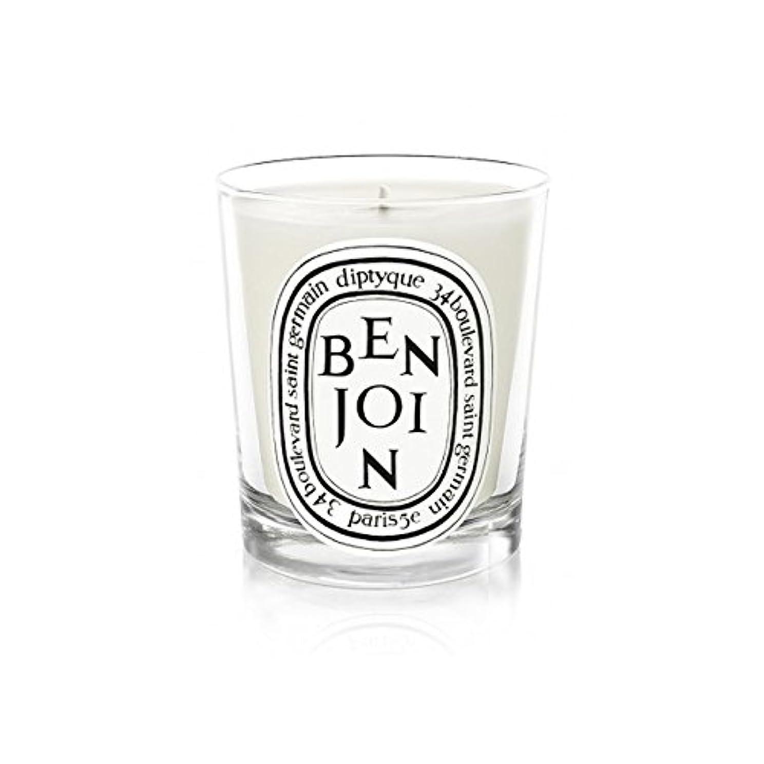 り逸脱大騒ぎDiptyque Candle Benjoin 190g (Pack of 2) - DiptyqueキャンドルBenjoinの190グラム (x2) [並行輸入品]