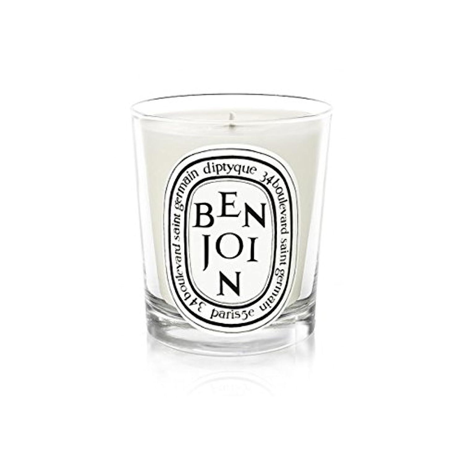 オーケストラ水素前方へDiptyque Candle Benjoin 190g (Pack of 2) - DiptyqueキャンドルBenjoinの190グラム (x2) [並行輸入品]