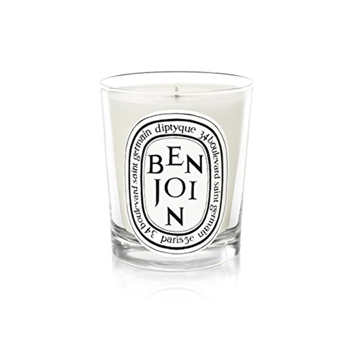 夕食を作るサスペンド悪性のDiptyque Candle Benjoin 190g (Pack of 6) - DiptyqueキャンドルBenjoinの190グラム (x6) [並行輸入品]