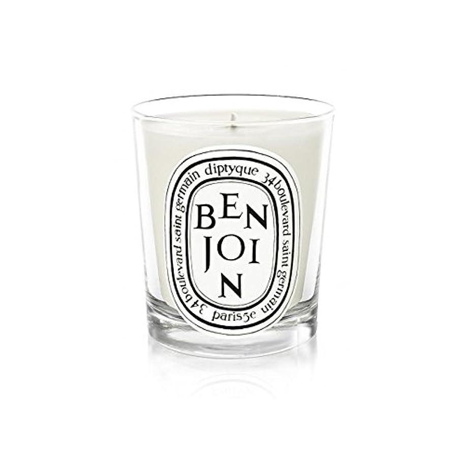猫背解凍する、雪解け、霜解けガロンDiptyque Candle Benjoin 190g (Pack of 2) - DiptyqueキャンドルBenjoinの190グラム (x2) [並行輸入品]