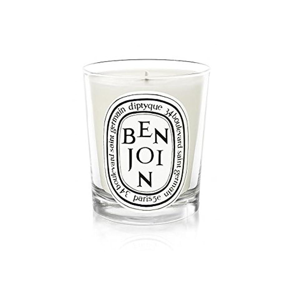 自分の力ですべてをする先生ゲートDiptyque Candle Benjoin 190g (Pack of 2) - DiptyqueキャンドルBenjoinの190グラム (x2) [並行輸入品]