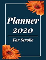 Planner 2020 for Stroke: Pretty Simple Planner |  2020 Planner (8.5′ x 11′ ) , 128  pages