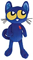 MerryMakers Pete the Kitty Plush Doll%カンマ% 8.5-Inch [並行輸入品]