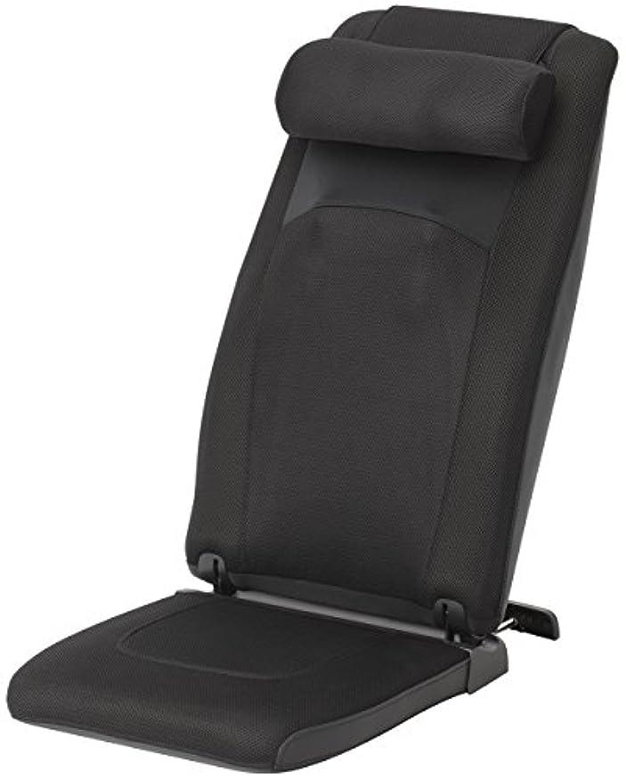 変化ピストル説得力のあるスライヴ 自立式マッサージシート(ヒーター機能搭載) 「つかみもみ機能搭載」 通販限定モデル ブラック MD-8615(K)