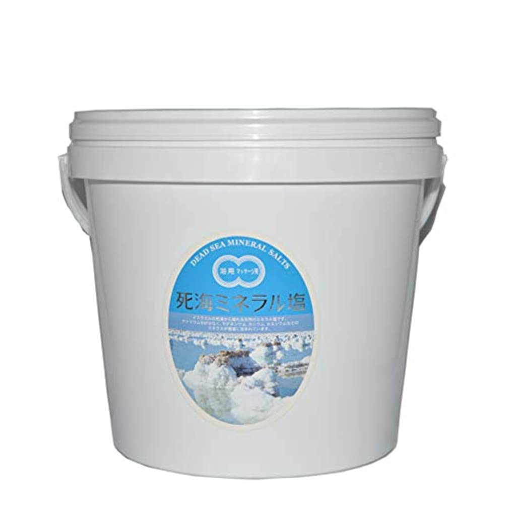 観察する道徳ロバ死海ミネラル塩5kgバケツ