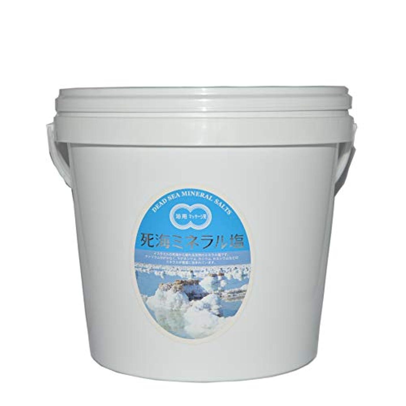 原因カバー貫通死海ミネラル塩5kgバケツ