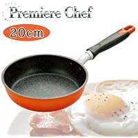 全ての熱源に対応した アルミ合金製のフライパン Premiere Chef プレミアシェフ フライパン 20cm オール熱源対応 化粧箱入 PCF-20 K