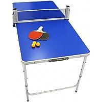 ポータブル 卓球 卓球台セット ピンポン 折りたたみテーブル ラケット ボール セット