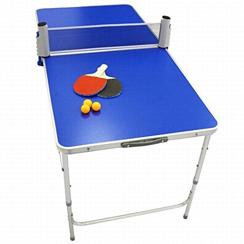 WEIMALL ポータブル 卓球 卓球台セット ピンポン 折りたたみテーブル...