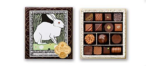 デメル DEMEL セレクション チョコレート ショコラ (Truffe15トリュフ 15粒入 キャラクター チョコボール セット)