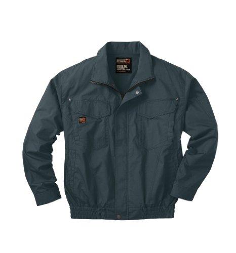 (SUN-S) サンエス 空調服 ブルゾン・ハードデザインモデル (ファン無・服のみ) 綿100% (KU91400) チャコール XL