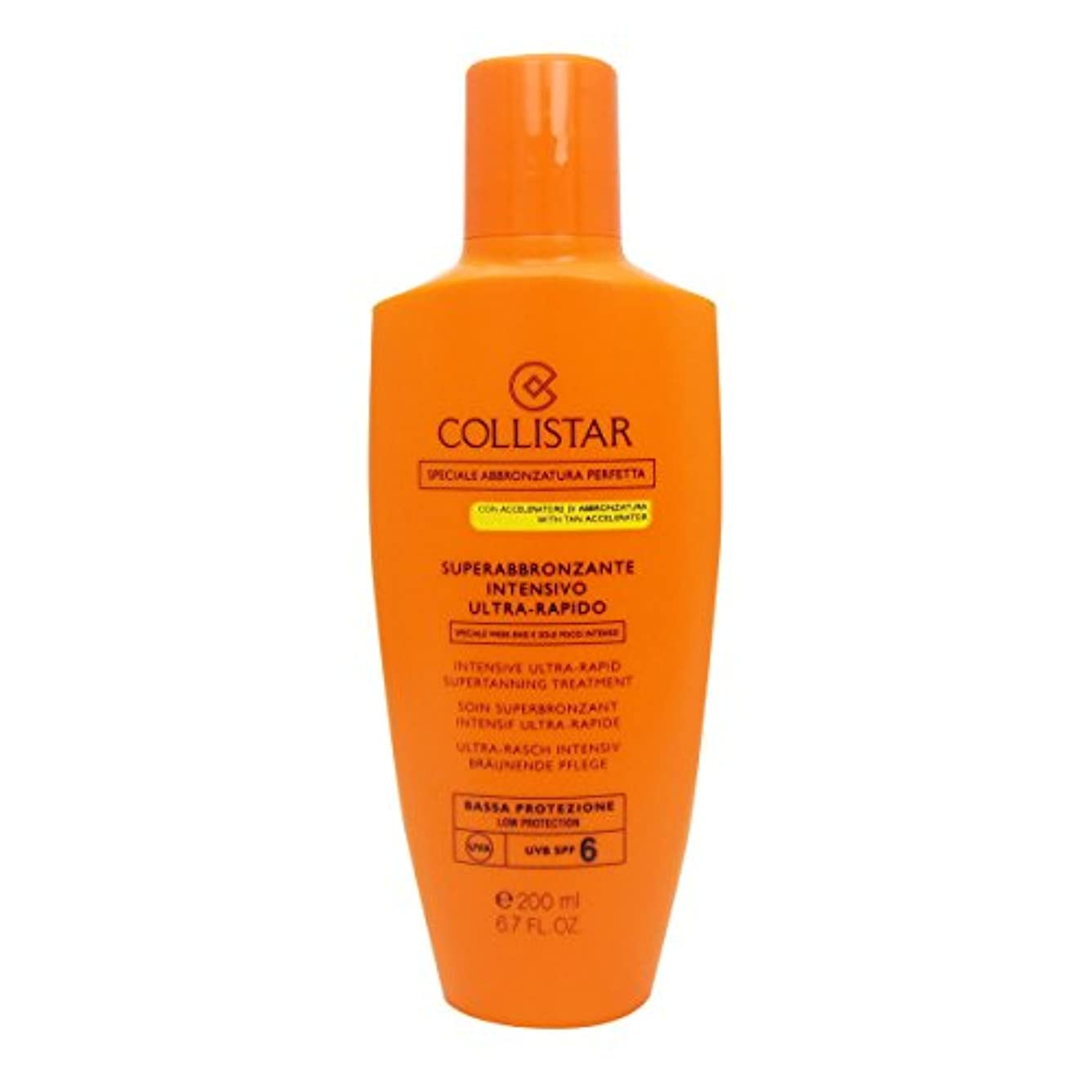 荒野より多いプロトタイプCollistar Intensive Ultra-rapid Supertanning Treament Spf6 200ml [並行輸入品]