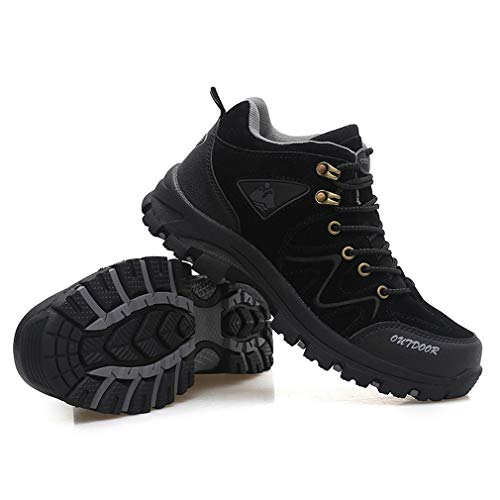 RDGO メンズ ハイキングシューズ トレッキングブーツ 登山靴 B07JLY8NN7 1枚目