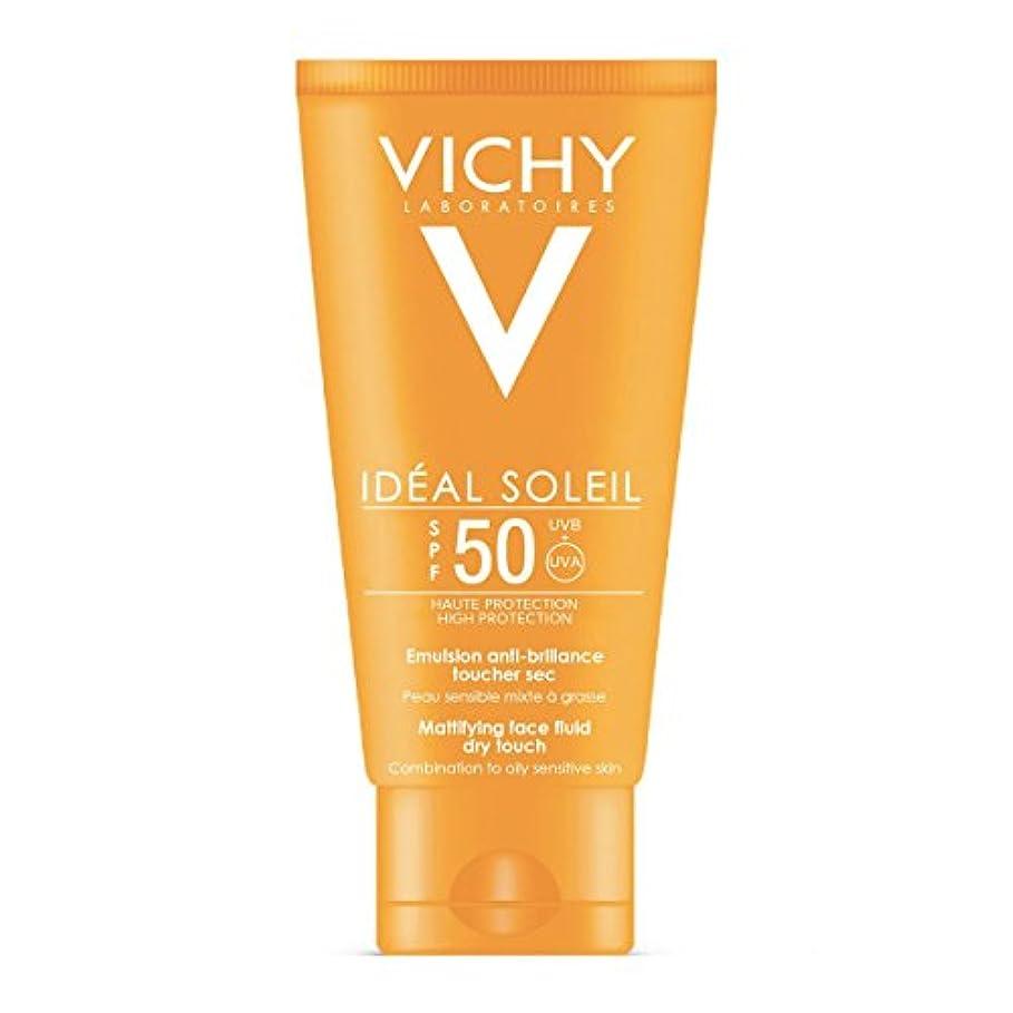 女王思慮のない部分的にVichy Capital Soleil Ideal Soleil Dry Touch Fluid 50ml [並行輸入品]
