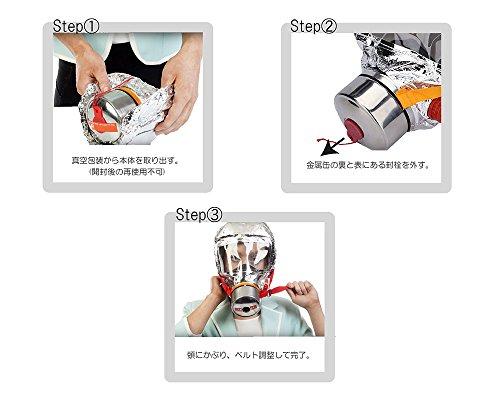 40分対応型 火災時避難用防煙マスク