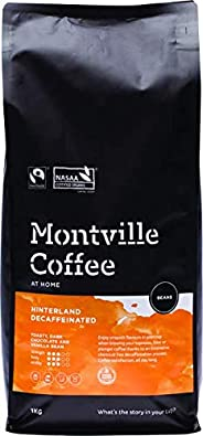 MONTVILLE COFFEE Hinterland Blend Decaf Coffee Beans 1 kg