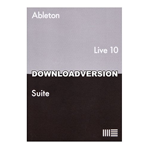 Ableton Live10 Suite 通常版 楽曲制作ソフト【ダウンロード版】 エイブルトン