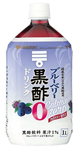 ミツカン ブルーベリー黒酢 カロリーゼロ 1000ml×6本