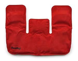 ドイツ Fashy社 天然泥炭ジェル ヒートパック 襟型 特大サイズ 湯たんぽ 温熱療法 肩・背中用