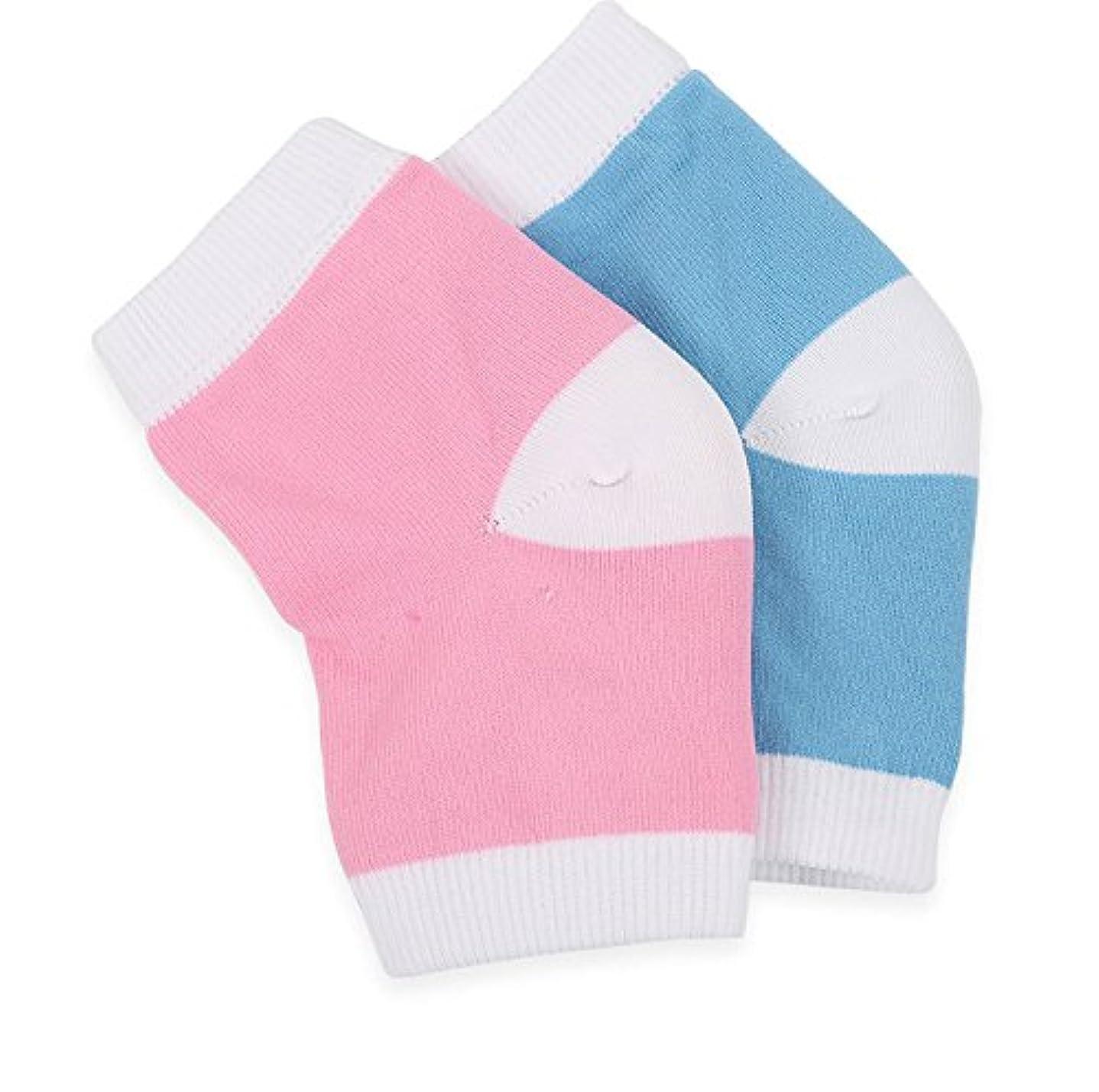 ブルーム整然とした炭水化物【Ban Ban Corp.】かかと ひび割れ つるつる 角質 保湿 ケア 靴下 ソックス (2足セット)
