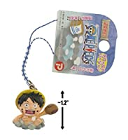 "Luffy in Onsen: ~1.2"" Onsen Exclusive Micro-Figure Charm"