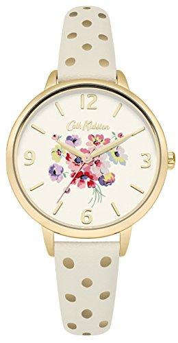 [キャスキッドソン]キャスキッドソン 腕時計 3針 花柄 マロリーバンチクリーム CKL004WG レディース 【正規輸入品】