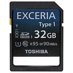 TOSHIBA SDHC UHS-Iカード EXCERIA Type1 32GB (SD-GU032G1)