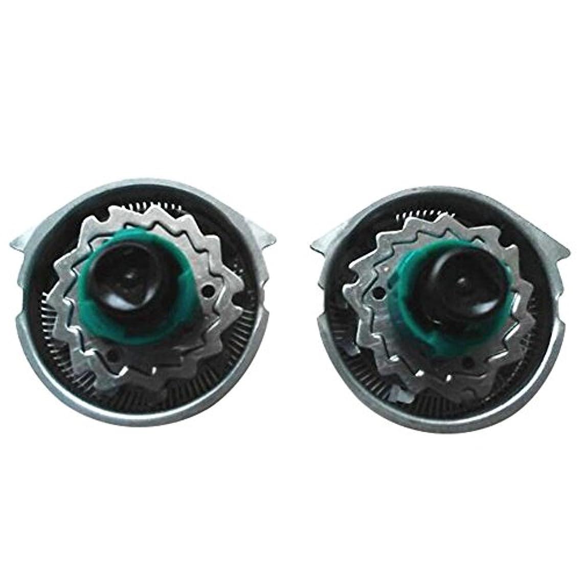 楕円形に対処する運動するDeylaying 置換 シェーバー 頭/カッター/キャリーバッグ/保護キャップ for Philips RQ1151 1195