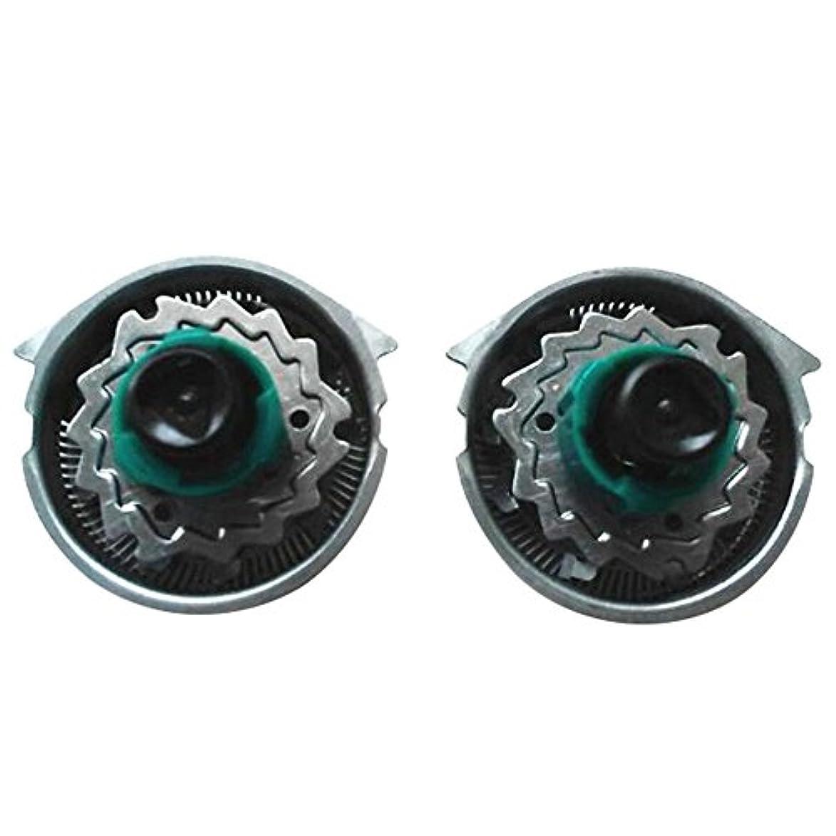 青複合沿ってDeylaying 置換 シェーバー 頭/カッター/キャリーバッグ/保護キャップ for Philips RQ1151 1195