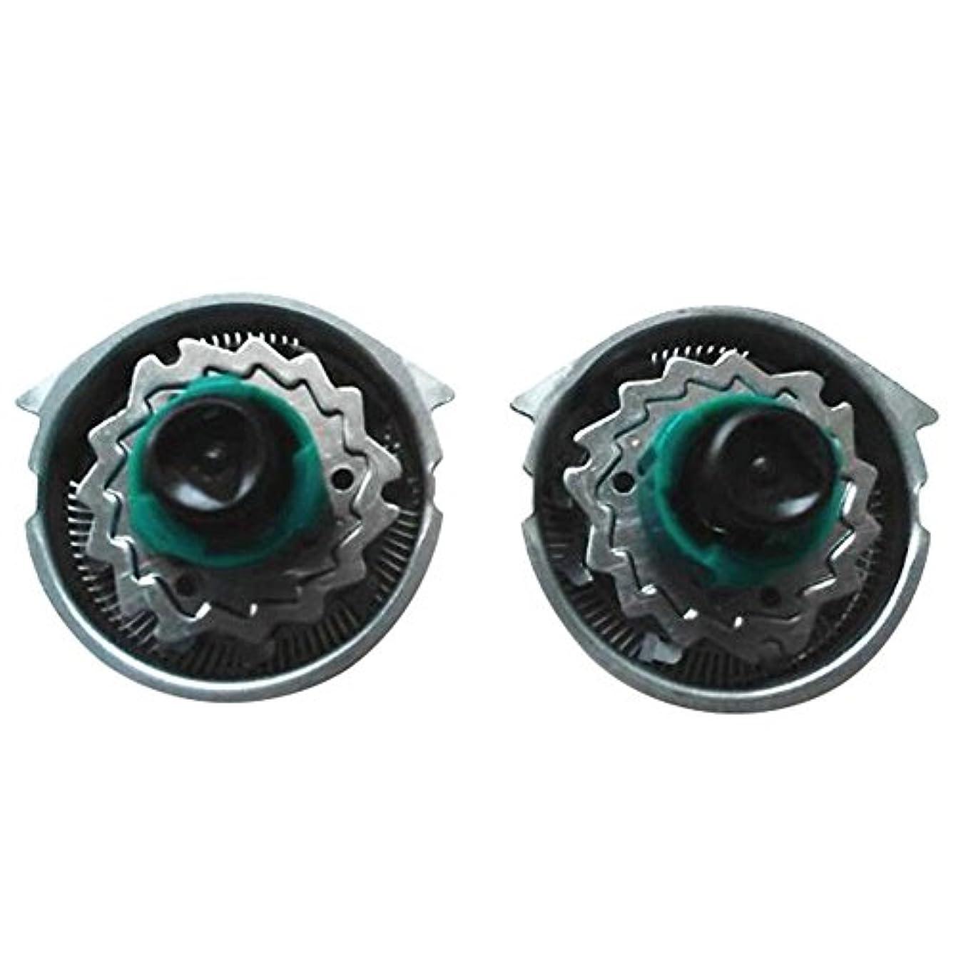 胴体聖域カメDeylaying 置換 シェーバー 頭/カッター/キャリーバッグ/保護キャップ for Philips RQ1151 1195