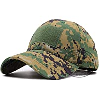 MKJNBH Bionic Flag Hat Camouflage Maple Leaf Tactical Operator Contractor Trucker Cap Hat Loop Patch